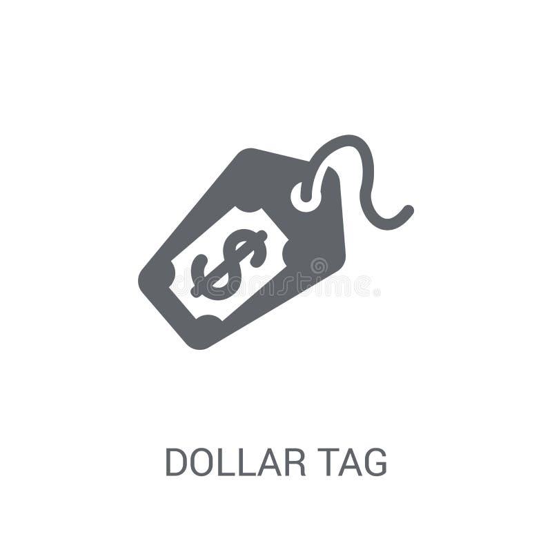 美元标记象  皇族释放例证