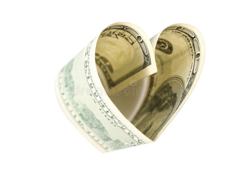 美元表单重点 免版税库存照片