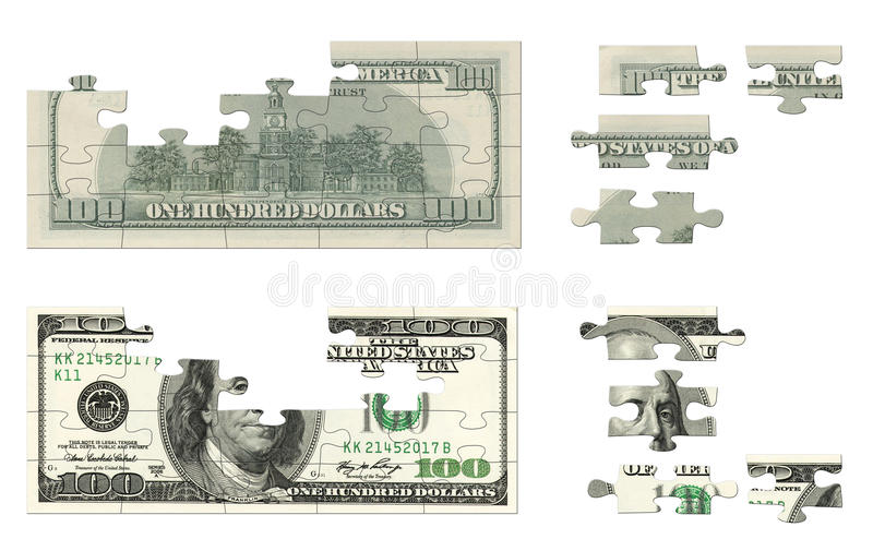 100美元难题 皇族释放例证