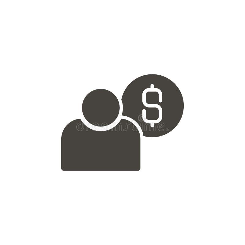 美元,金钱,用户传染媒介象 illustrationDollar简单的元素,金钱,用户传染媒介象 r 皇族释放例证