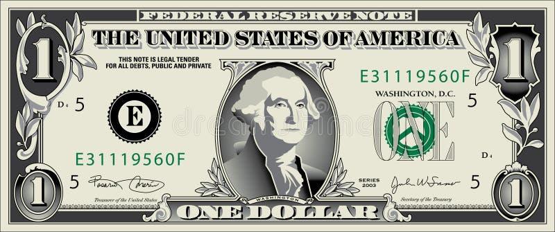 美元JPG 向量例证