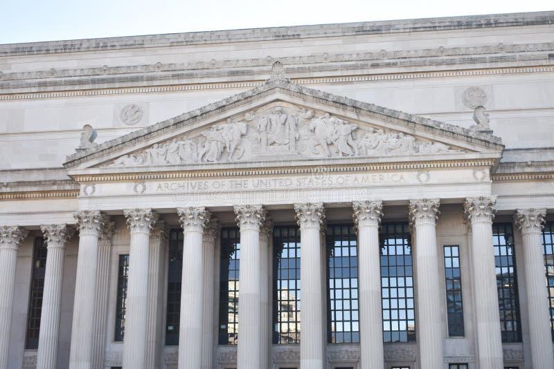 美利坚合众国大厦的档案 库存照片