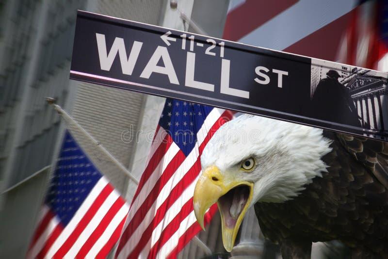美利坚合众国-纽约证券交易所 免版税库存图片