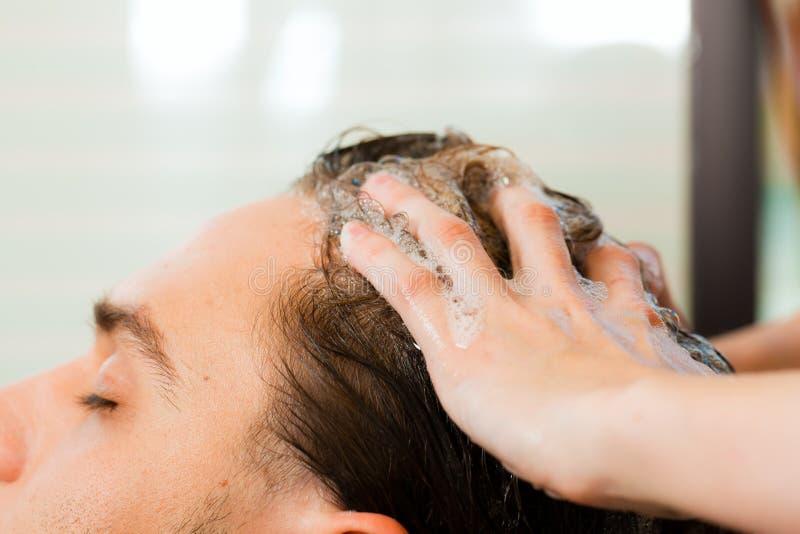 美发师人 免版税库存照片