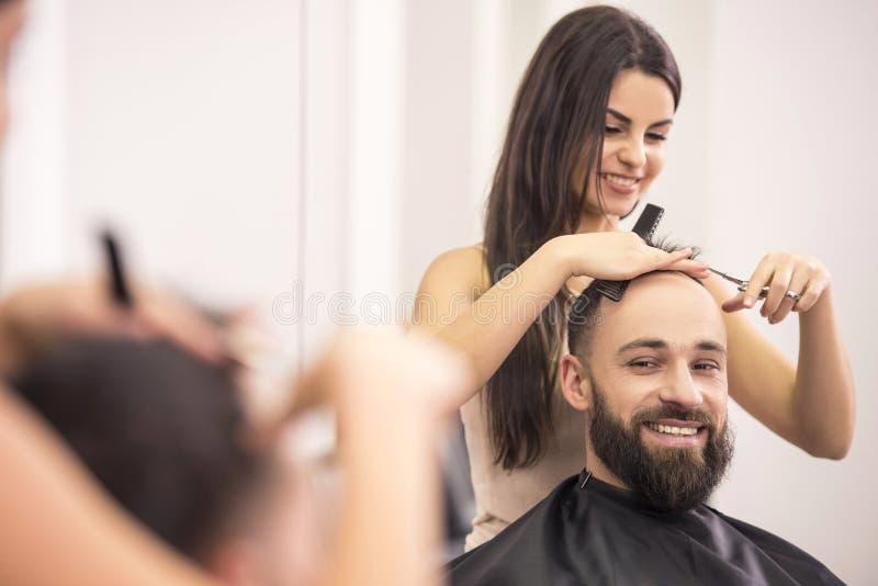 美发师的 免版税库存照片