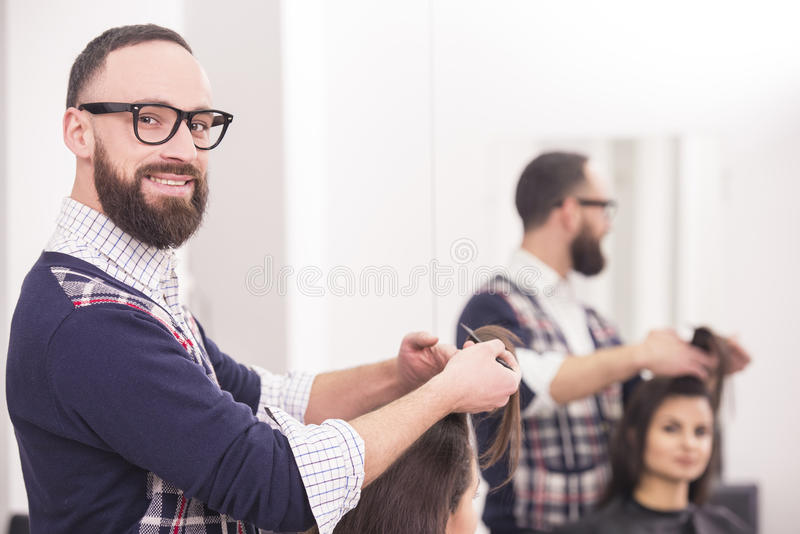 美发师的 库存照片