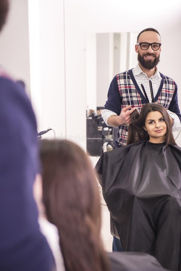 美发师的 库存图片