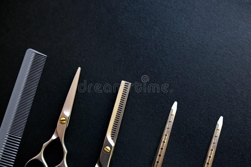 美发师仪器 库存照片
