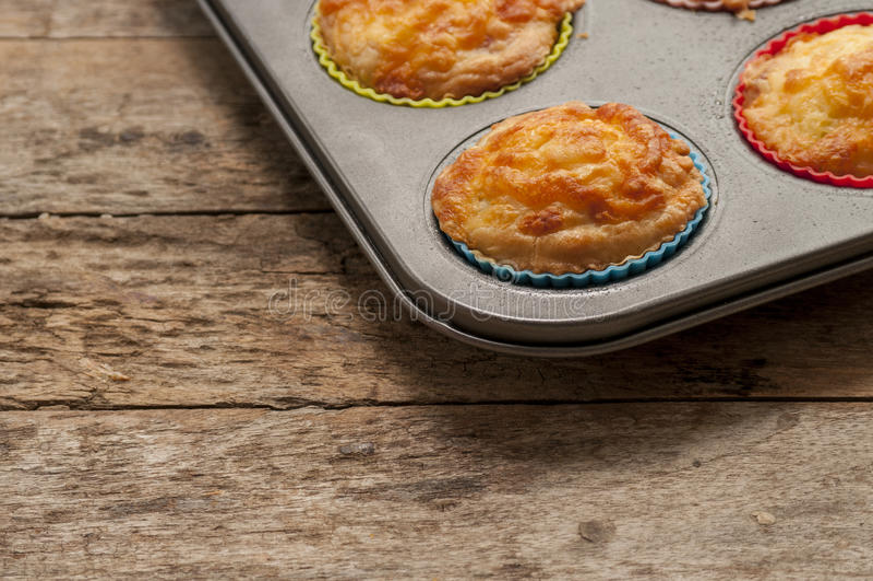 美味松饼关闭 免版税库存图片