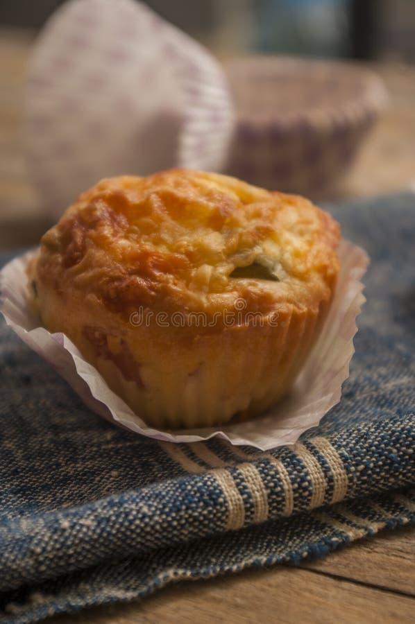 美味松饼 免版税库存照片