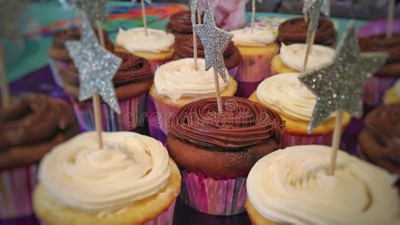 美味的杯形蛋糕 库存图片