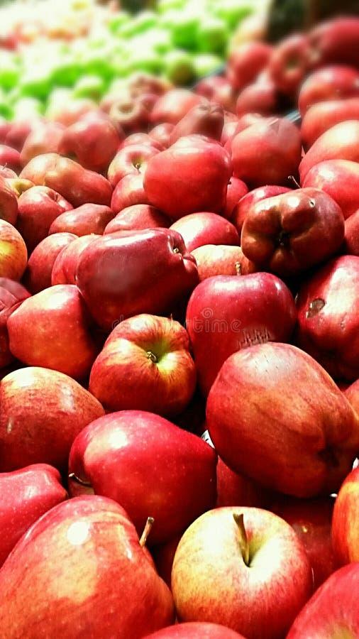 美味红色苹果 免版税库存照片