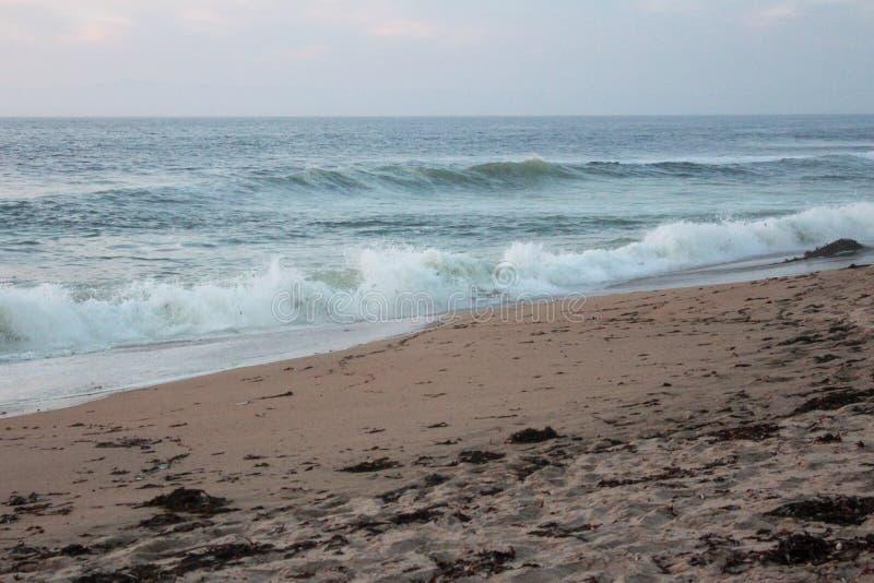 美国加利福尼亚州蒙特利县沙城海滩 库存照片