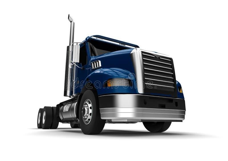 美国卡车 向量例证