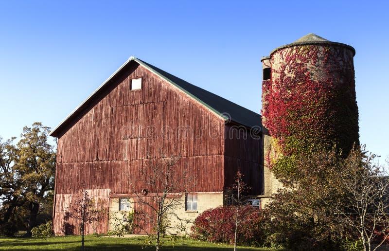 美国古国农场 免版税图库摄影