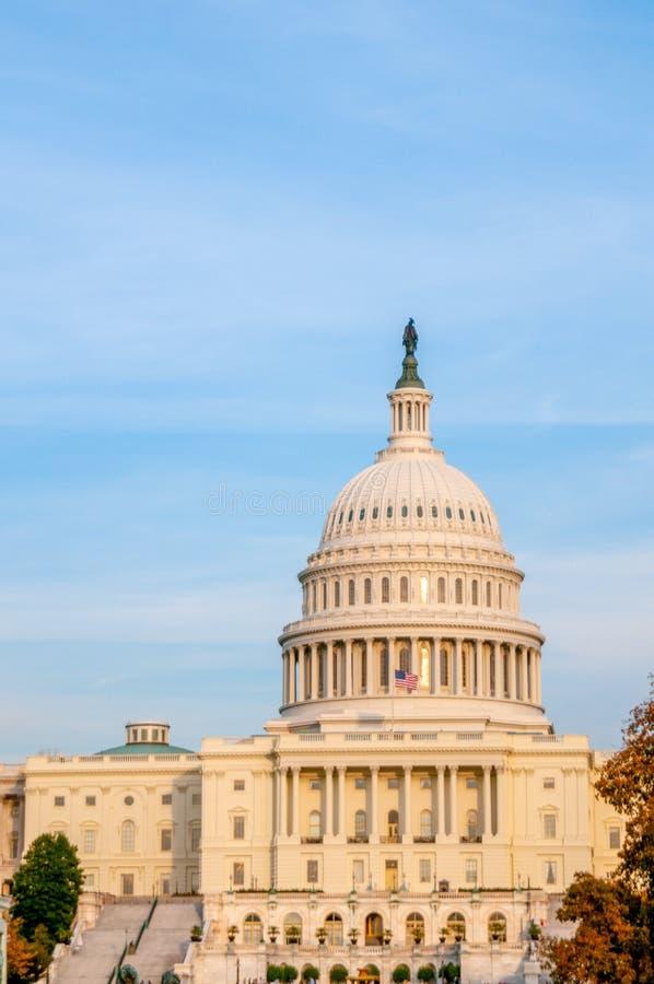 美国国会大厦圆顶 免版税库存照片
