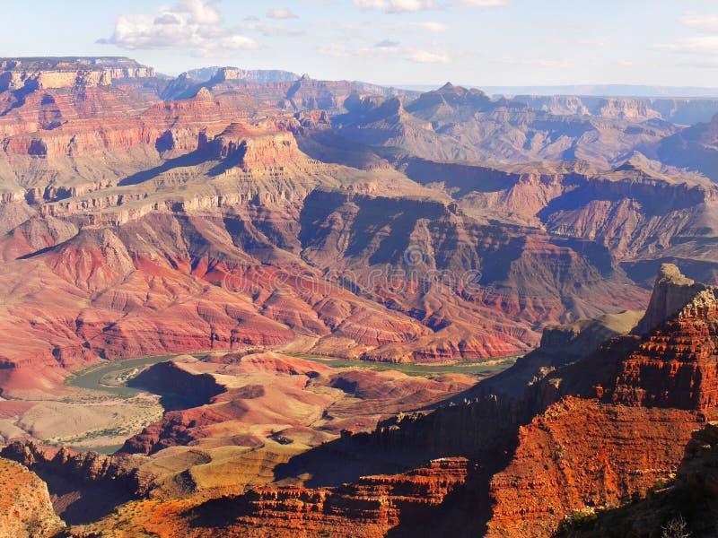 美国国家公园,大峡谷 免版税图库摄影