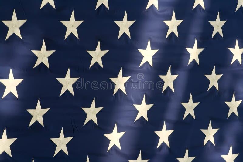 美国国旗星形 免版税图库摄影