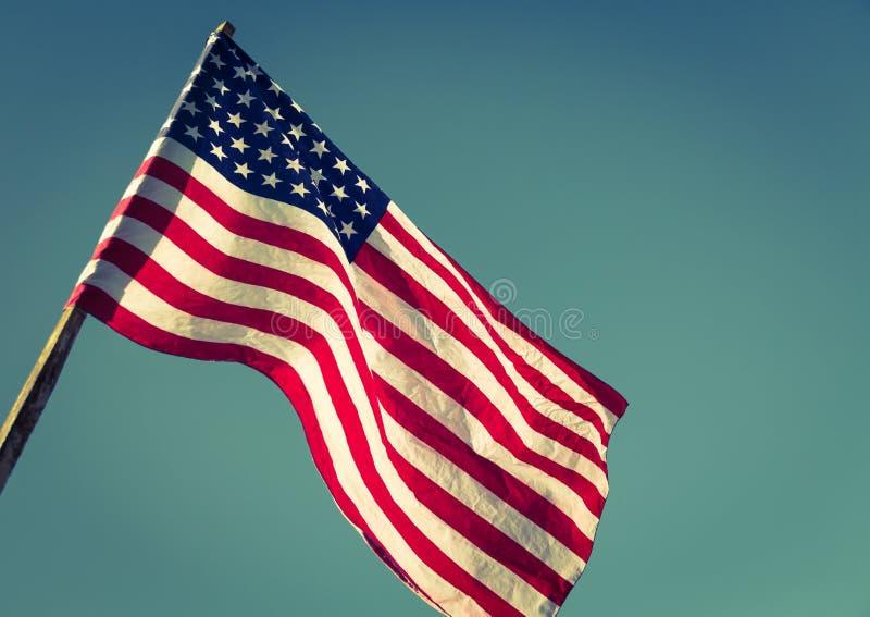 美国国旗_美国国旗(被过滤的图象被处理的葡萄酒e