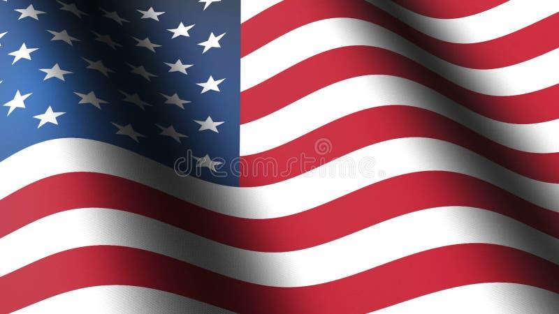 美国国旗 影视素材