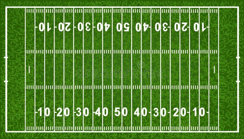 美国域橄榄球向量 库存例证