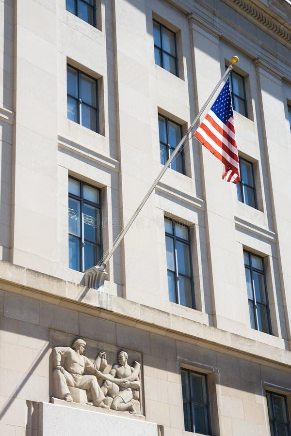 美国大厦标志 库存图片