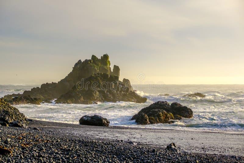 美国太平洋海岸风景,俄勒冈 库存图片