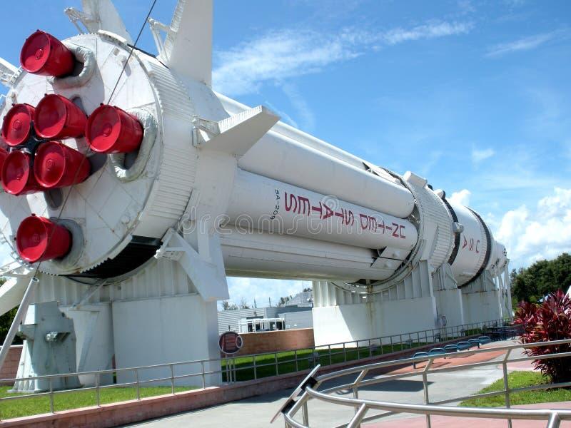 美国太空火箭 免版税图库摄影