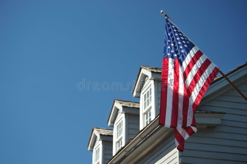 美国奥古斯丁标志房子st 库存照片