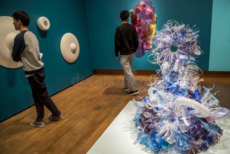 美国威斯康星州麦迪逊的查森艺术博物馆 免版税库存照片
