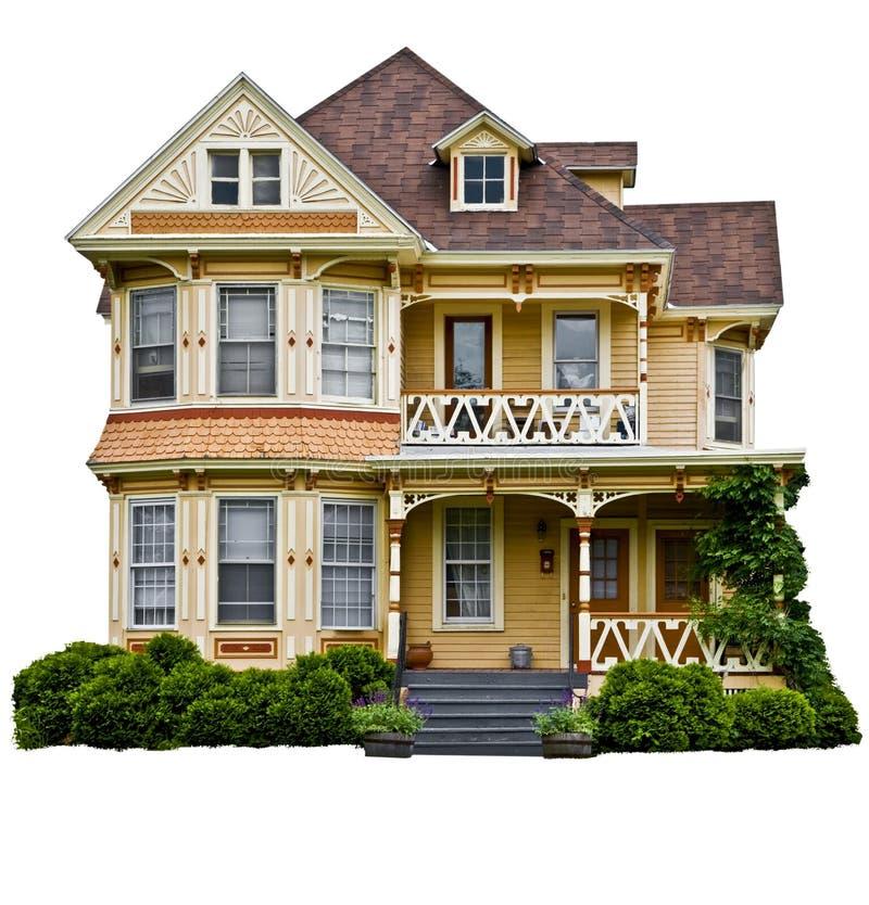 美国家庭房子 图库摄影