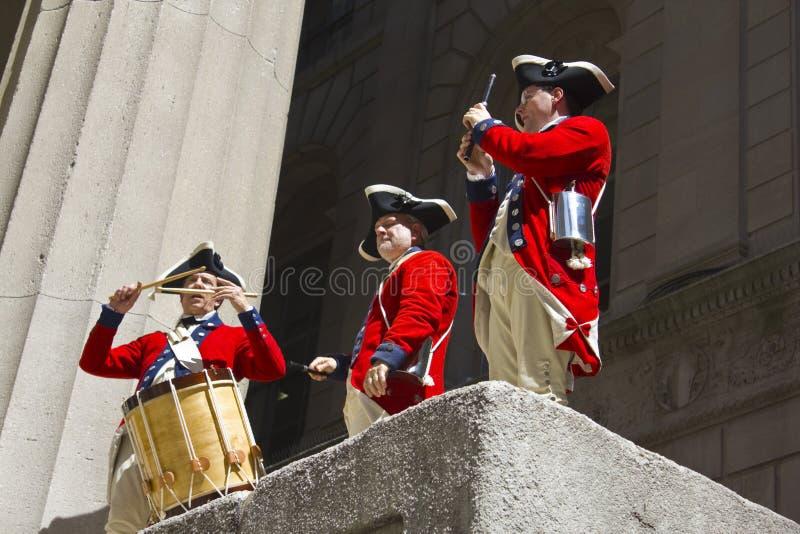 美国庆祝的革命 免版税库存图片