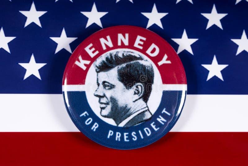 美国总统的约翰・肯尼迪 免版税库存照片