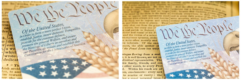 美国护照历史文件 免版税库存照片