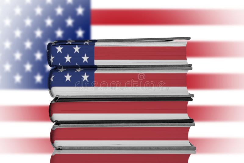 美国教育 库存图片