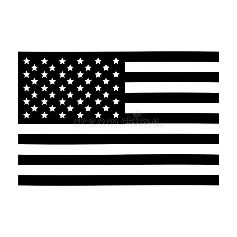 美国旗子象图象 皇族释放例证