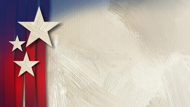 美国星条旗抽象纹理背景 皇族释放例证