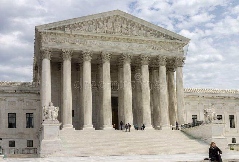 美国最高法院  库存图片