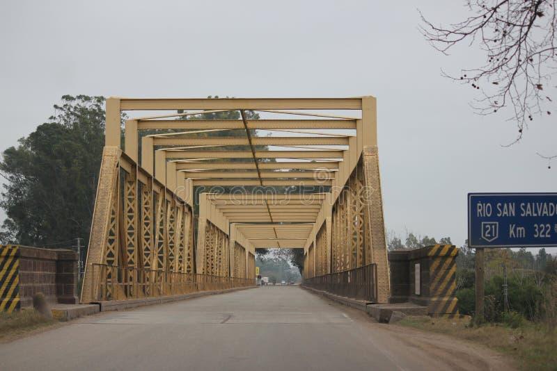 美国桥梁南乌拉圭 免版税图库摄影