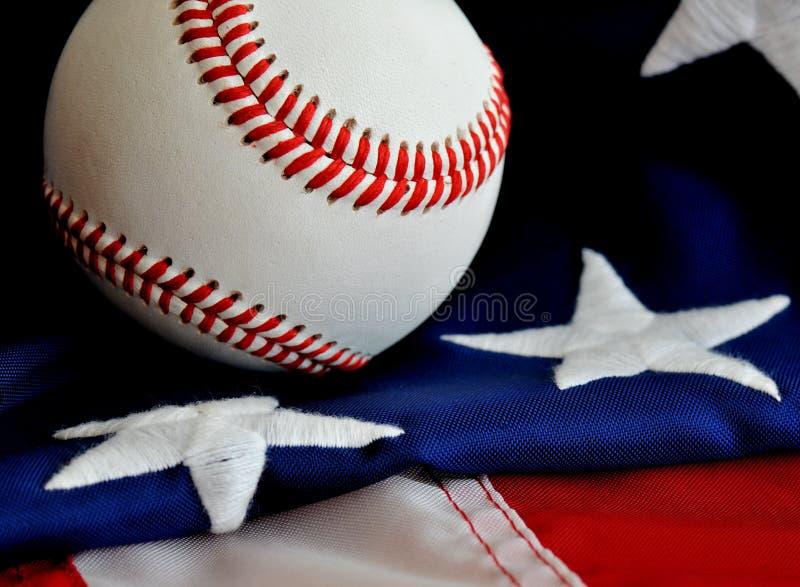 美国棒球 库存照片