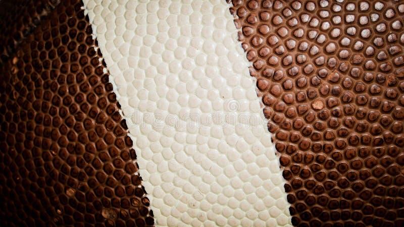 美国橄榄球联盟球零件 免版税库存照片