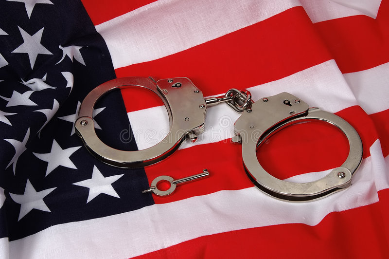 美国正义 免版税库存照片