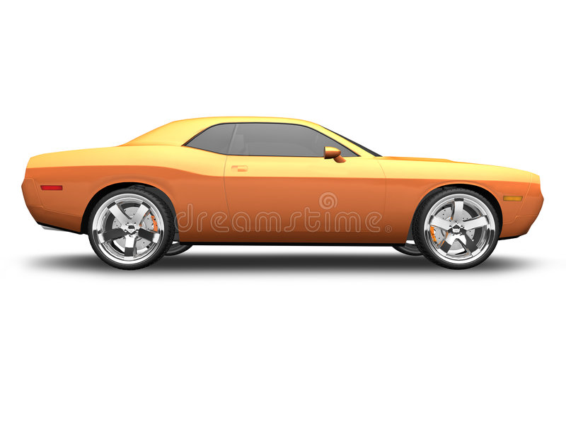 美国汽车肌肉 库存图片