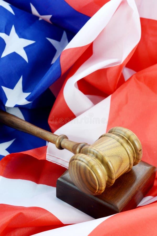 美国法制系统 库存图片