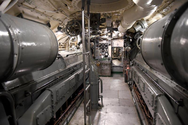 美国海军潜水艇USS Silvesides 免版税图库摄影