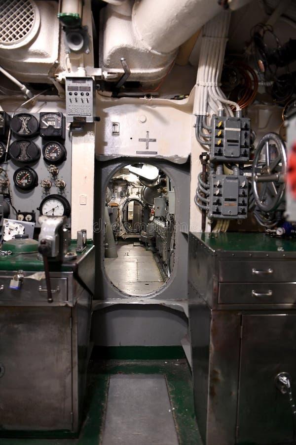 美国海军潜水艇USS Silvesides 免版税库存照片