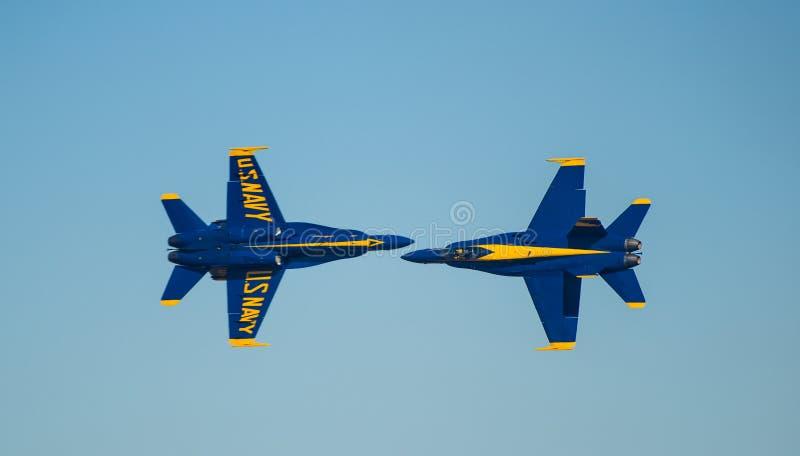 美国海军蓝色天使Airshow 图库摄影