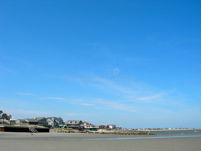 美国海滩南的卡罗来纳州 库存照片