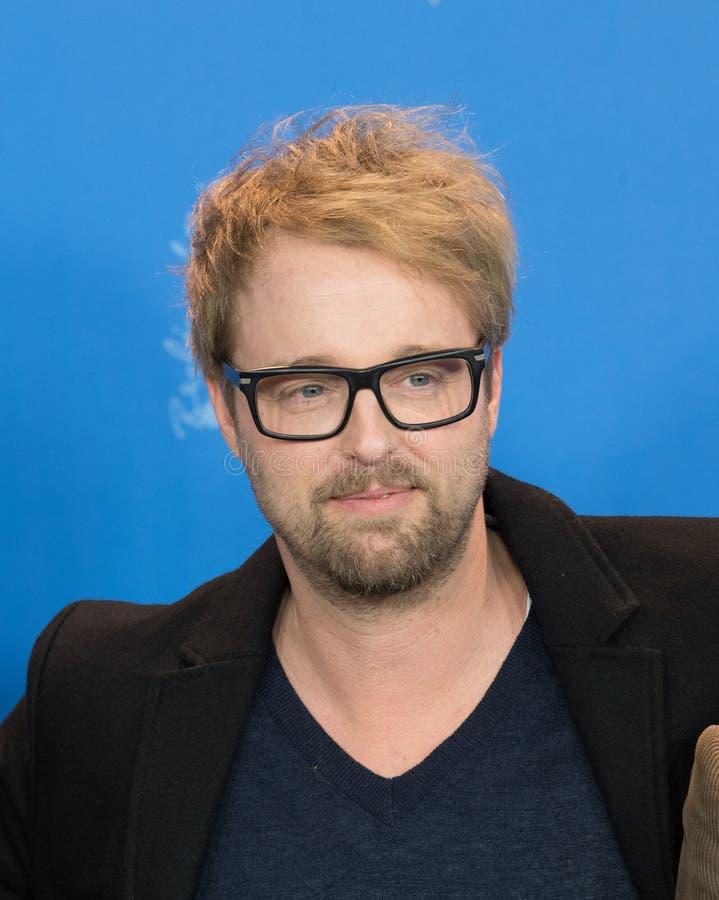 美国演员在Berlinale期间的约书亚伦纳德2018年 免版税图库摄影