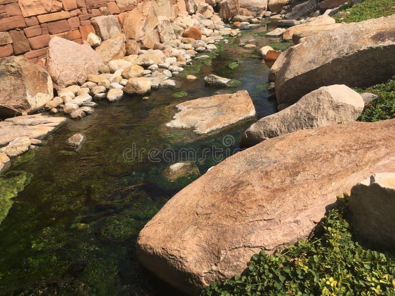 美国犹他州盐湖城市城溪 免版税图库摄影